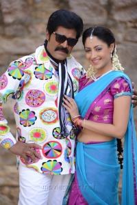 Srihari, Gurlin Chopra in Siva Kesav Movie Stills