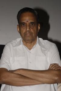 AVM Saravanan at Sivaji 3D Movie Press Meet Stills