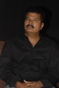 Director Shankar at Sivaji 3D Movie Press Meet Stills