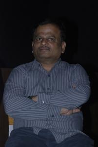 KV Anand at Sivaji 3D Movie Press Meet Stills