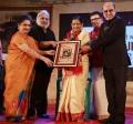 Sudha Mahendran, Ramkumar Ganesan, P Susheela, Mahendran @ Sivaji Oru Uthama Puthiran Event Stills