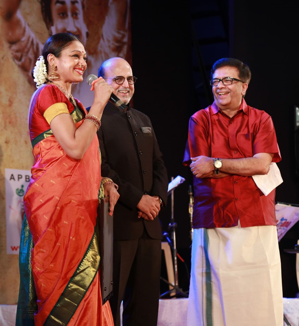 Shobana, YG Mahendran @ Sivaji Oru Uthama Puthiran Event Stills