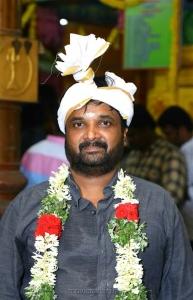 24 AM Studios Producer RD Raja @ Sivakarthikeyan Samantha Movie Pooja Stills