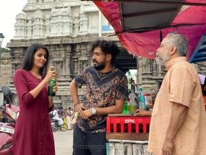 Madhuri, Hiphop Tamizha Aadhi in Sivakumarin Sabatham Movie HD Images