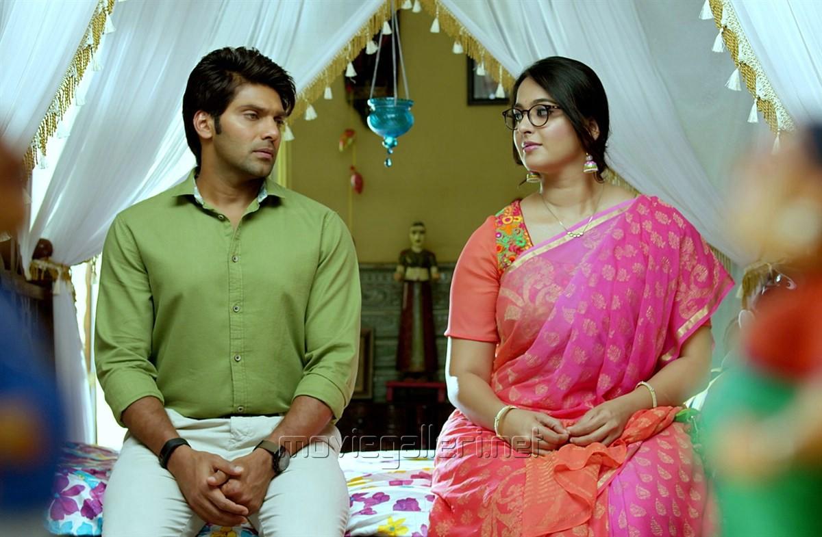 Picture 928048 | Arya, Anushka in Size Zero Telugu Movie Stills ...