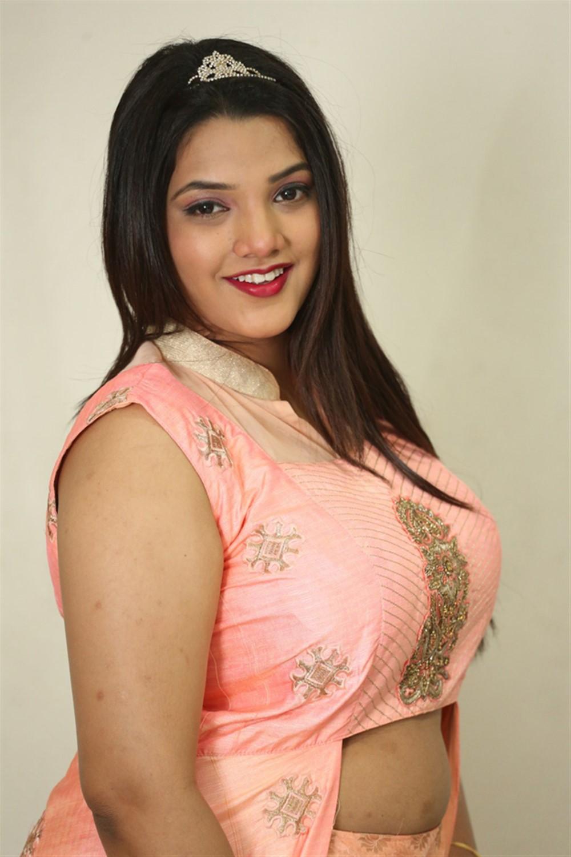 Actress SK Attiya Stills @ Danger Love Story Press Meet