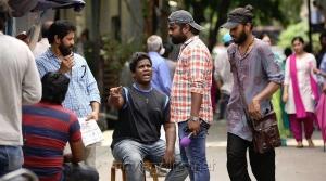 Vikram, Vijay Chander @ Sketch Movie Working Stills