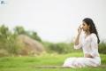 Pop Singer Smitha Yoga Day Photoshoot Stills