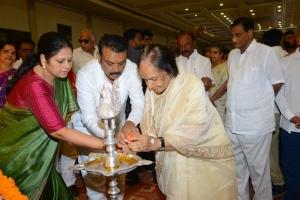Jayasudha, Naresh @ Smt Vijaya Nirmala 10th Day Prayer Meet Photos