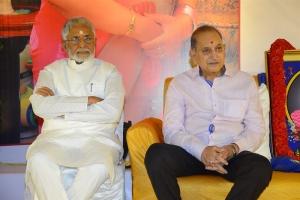 Murali Mohan, Krishna @ Smt Vijaya Nirmala 10th Day Prayer Meet Photos