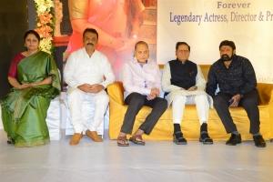 Jayasudha, Naresh, Krishna, TSR, NBK @ Smt Vijaya Nirmala 10th Day Prayer Meet Photos