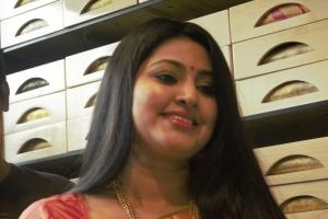 Actress Sneha Inaugurates Kancheepuram VRK Silks Coimbatore Stills