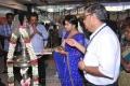Actress Sneha Saree Pics at Viveks Showroom Nagercoil