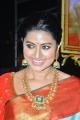 Actress Sneha Saree Photos @ Vinaya Vidheya Rama Pre Release