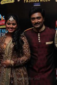 Sneha & Prasanna at Chennai International Fashion Week 2012
