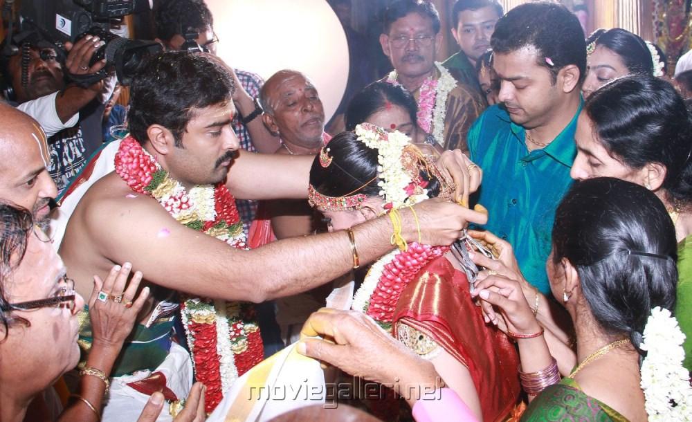 Prasanna Sneha Wedding Pics