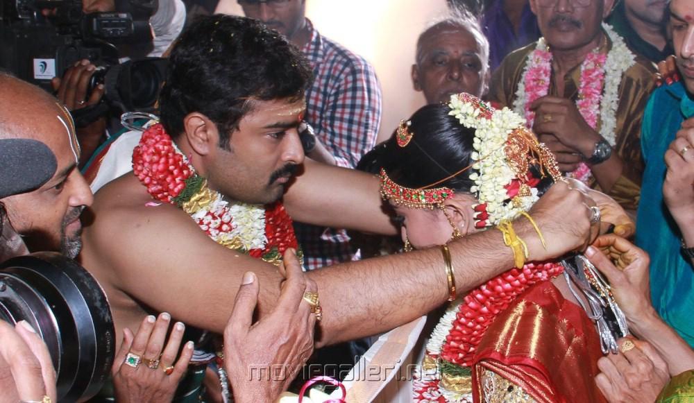 Tamil Actress Sneha Wedding Photos