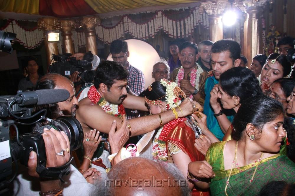Actress Sneha and Prasanna Marriage Stills