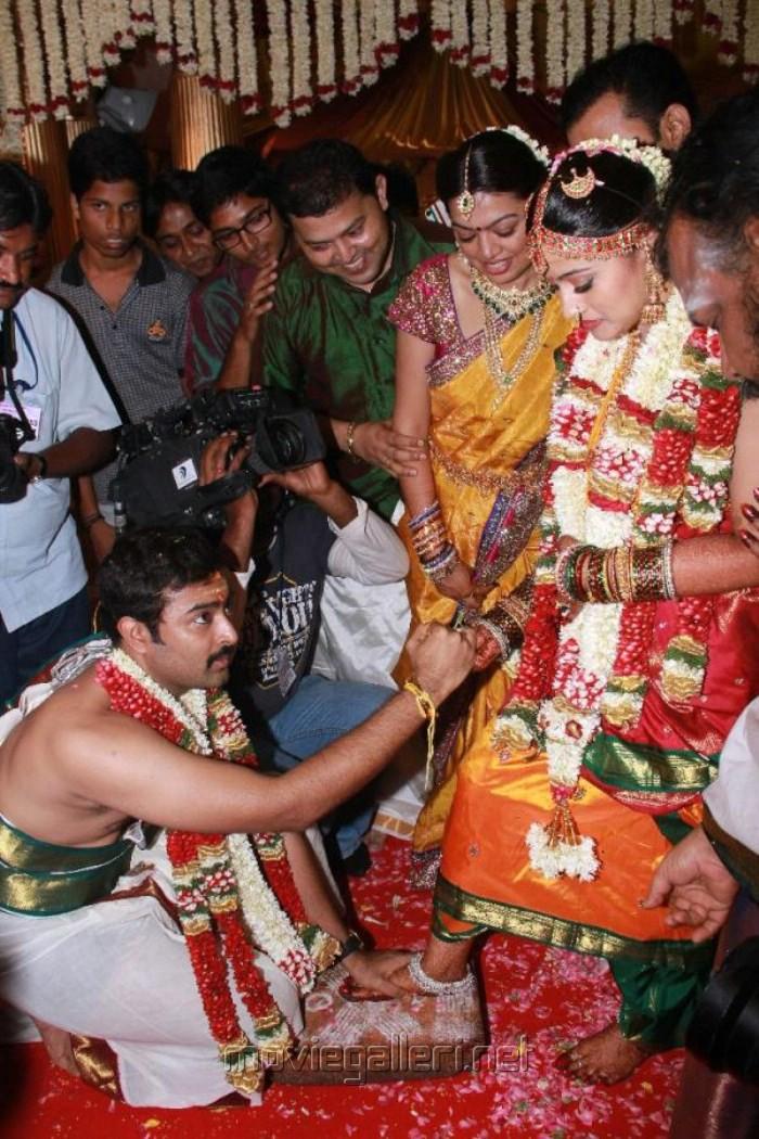Prasanna & Sneha Wedding Pictures