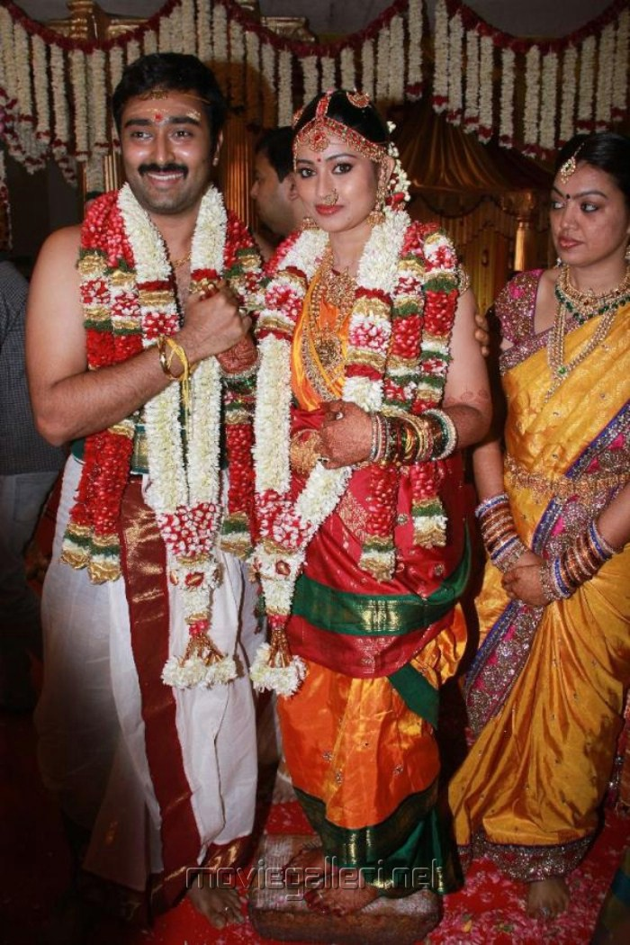 Sneha Prasanna Marriage Pictures