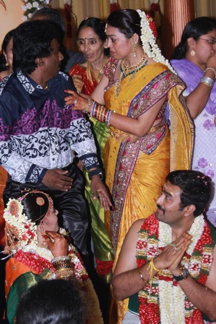 PRO Nikhil Murugan at Sneha Prasanna Marriage Pics