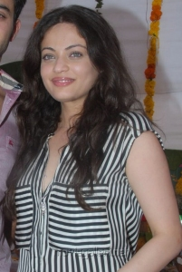 Actress Sneha Ullal Pics at Antha Nee Mayalone Movie Opening
