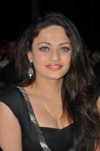 Actress Sneha Ullal Hot Pics in Black Dress