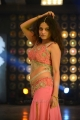 Actress Sneha Ullal Spicy Hot Pics in Light Red long Skirt