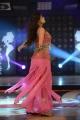 Actress Sneha Ullal Spicy Hot Stills in Light Red Dress