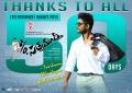 Actor Allu Arjun in S/o Satyamurthy Movie 50 Days Wallpapers