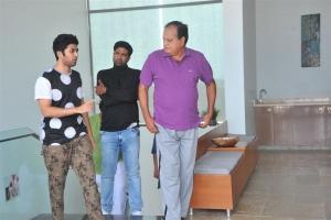 Vennela Kishore, Rahul Ravindran, Chalapathi Rao in Sobhan Babu Movie Stills