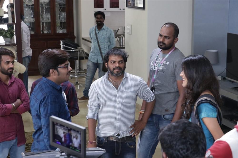 Rajasekhar Reddy Pulicharla @ Software Sudheer Movie Working Stills
