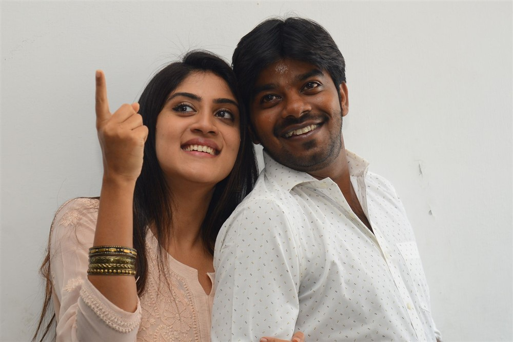 Dhanya Balakrishna, Sudigali Sudheer @ Software Sudheer Movie Press Meet Photos
