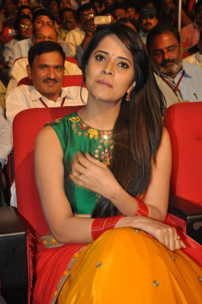 Actress Anasuya @ Soggade Chinni Nayana Audio Launch Photos