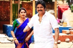 Ramya Krishnan, Nagarjuna in Soggade Chinni Nayana Telugu Movie Stills