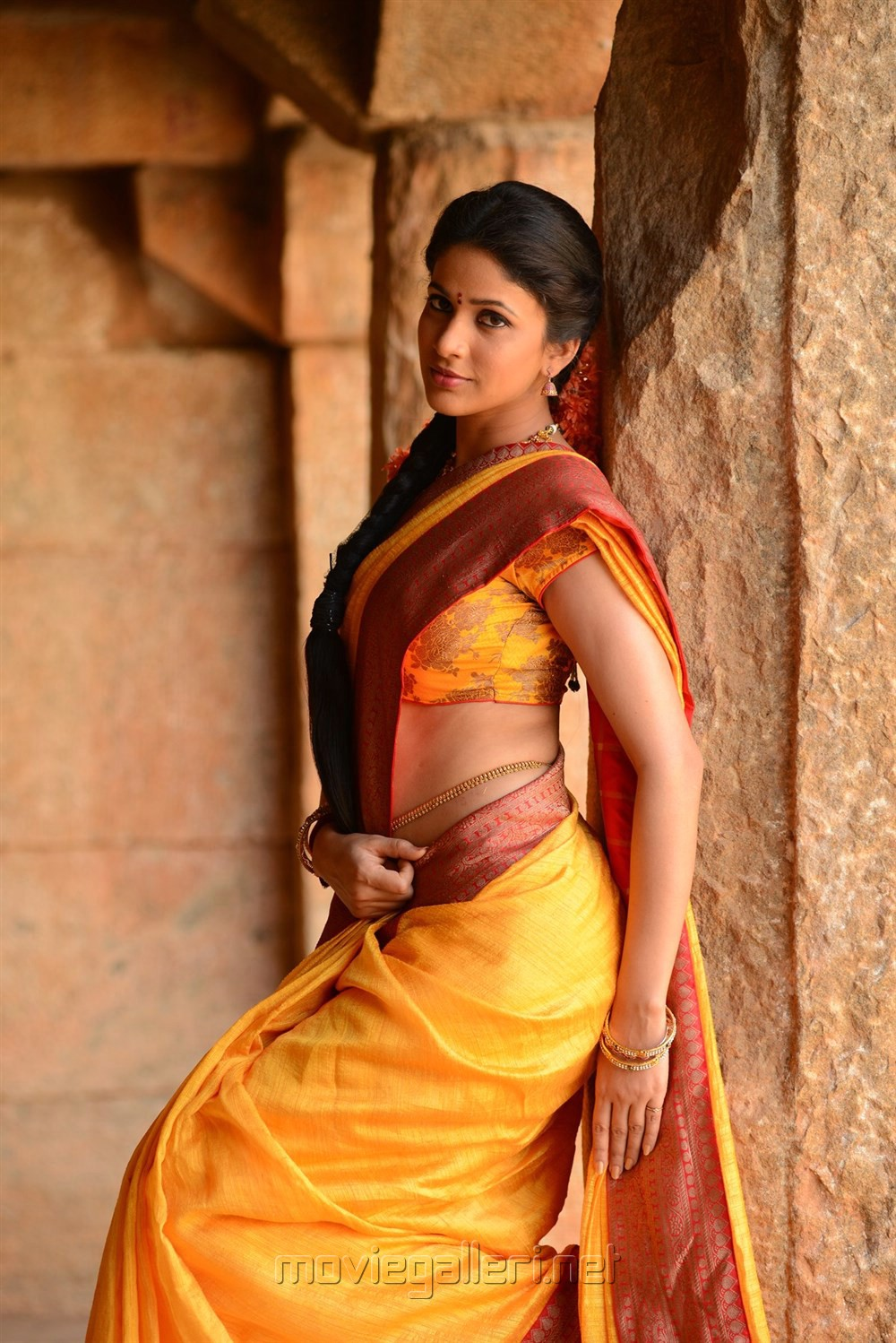 Actress Lavanya Tripathi in Sokkali Mainar Movie New Photos