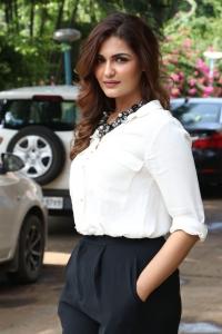 Actress Arthi Venkatesh Photos in White Shirt & Black Pant
