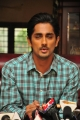Actor Siddharth at Something Something Movie Press Meet Stills