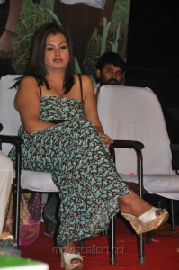 Actress Sona Hot Latest Photos in Sleeveless Long Gown