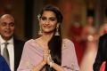 Actress Sonam Kapoor Walk the Ramp @ IIJW 2015 Photos