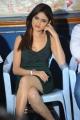 Telugu Actress Sony Charishta in Dark Green Dress Hot Pics