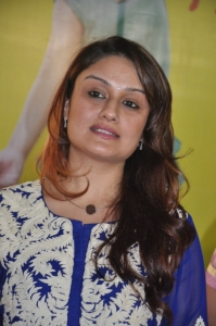 Sonia Agarwal Cute Photos in Navy Blue Churidar