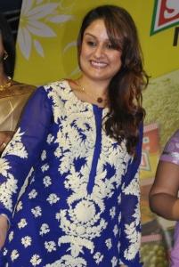 Sonia Agarwal Cute Photos in Blue Salwar Kameez