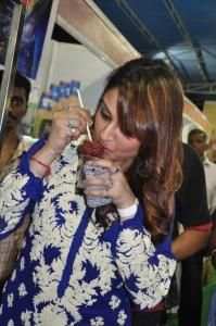 Actress Sonia Agarwal in Blue Salwar Kameez Photos