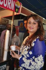 Tamil Actress Sonia Agarwal Cute Photos in Blue Salwar