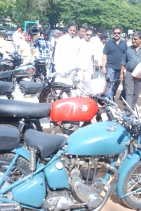Sonia Agarwal Flag Off My TVS Heritage Car Rally Stills