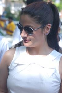 Actress Sonia Agarwal at Heritage Car Rally Stills