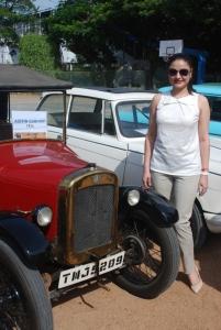 Sonia Agarwal at My TVS Heritage Car Rally 2012 Stills