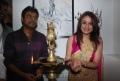 Sonia Agarwal, Harris Jayaraj at SoundGarage Inauguration Stills