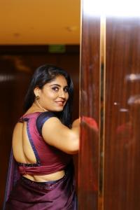 Actress Sonia Chowdary Saree Photoshoot Pics